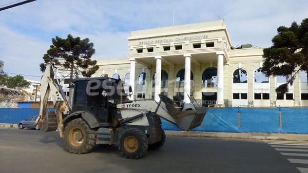 [FOTOS] A paso firme continúa la construcción del nuevo estadio de Valparaíso