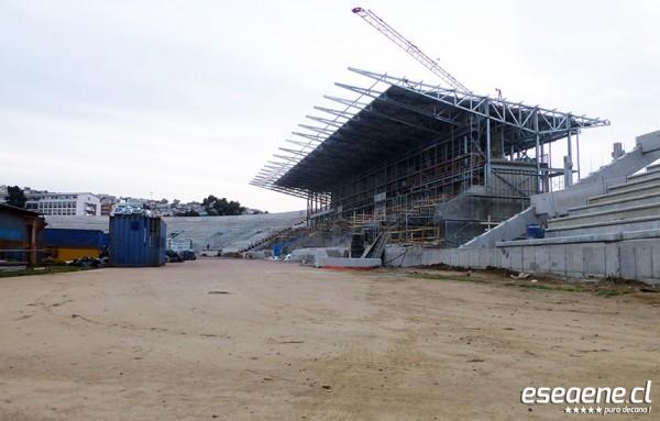 [FOTOS] Avances del Estadio Elías Figueroa