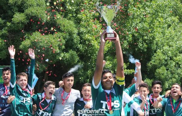 Wanderers Sub 14 levantó la copa del Campenato Nacional de Fútbol Infantil