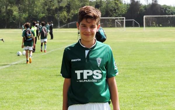 """Iñaki Torrejón, capitán sub 13: """"quiero llegar al primer equipo y quedar en el corazón de los hinchas»"""