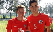 Jugadores caturros participan en amistoso de selecciones menores