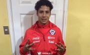 Willian Gama forma parte de La Roja Sub 17 que jugará el Torneo Cuatro Naciones en Francia