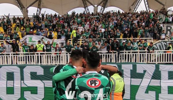 Wanderers por fin sale de ganador, tras derrotar por dos a cero a San Luis en Quillota