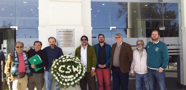 Corporación Wanderers homenajea a víctimas de la dictadura en el Estadio Playa Ancha