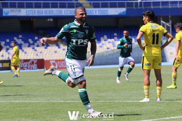 Wanderers logra su primera victoria a costa de Universidad de Concepción