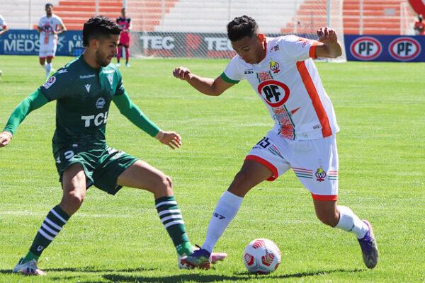 Santiago Wanderers cae en el norte y suma su tercera derrota consecutiva